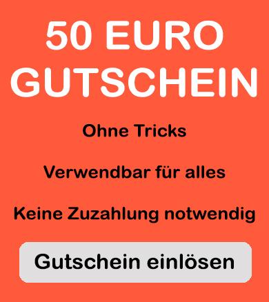 gutschein für 50euro guthaben