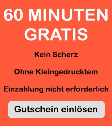 gutschein für 60 freiminuten